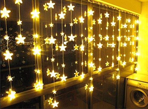 bellabrunne-groe-dekoration-led-stern-drapierung-weihnachtlicher-8-modi-blinkt-lichtervorhang-mit-27