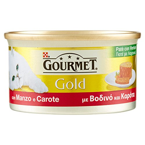 Gourmet Gold Pate 'bœuf & carottes Gr. 85