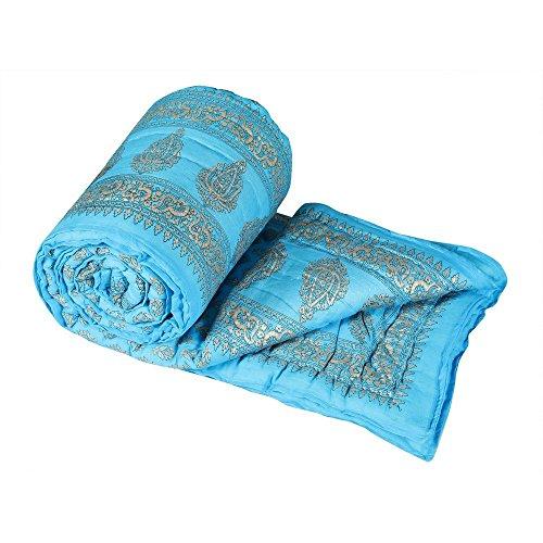 Royal Handicraft Jaipuri Light Weight Pure Cotton Double Bed Quilt Rajai