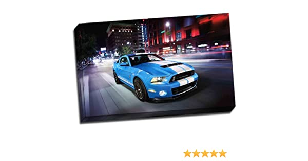 FORD SHELBY MUSTANG GT500 POSTER CAR ART PRINT A4 A3 SIZE BUY 2 GET ANY 2 FREE
