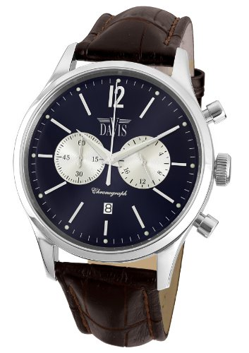 Davis Unisex Analogue Watch with blue Dial Analogue Display - 1751