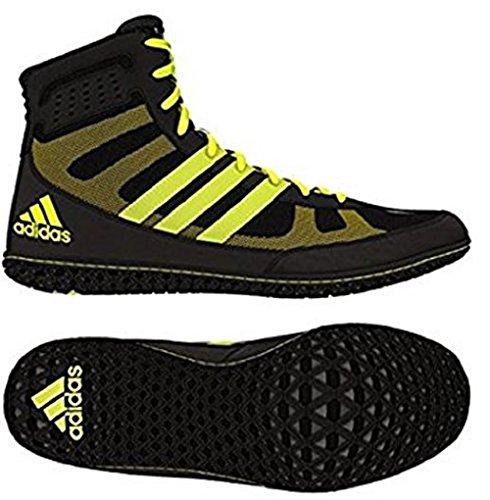 Adidas Ace 16.1 Primeknit Fg / ag morsetti di calcio (solare Verde, shock pink), 12,0 D (m) Us, Sola Black,Solar Yellow