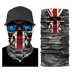 Jamicy 3D Print Mask Face Mask Bandana Cycling Motorcycle Head Scarf Neck Face Mask Ski Balaclava Headband for Men Women by Jamicy_Mask