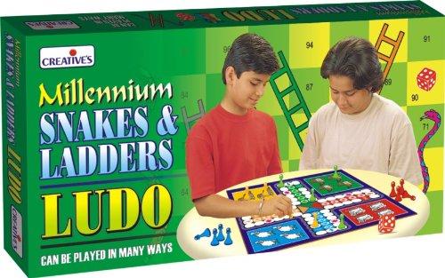 creative educational aids 0821 millennium ludo, snakes and ladders - 51h 2BdkYxUiL - Creative Educational Aids 0821 Millennium Ludo, Snakes and Ladders
