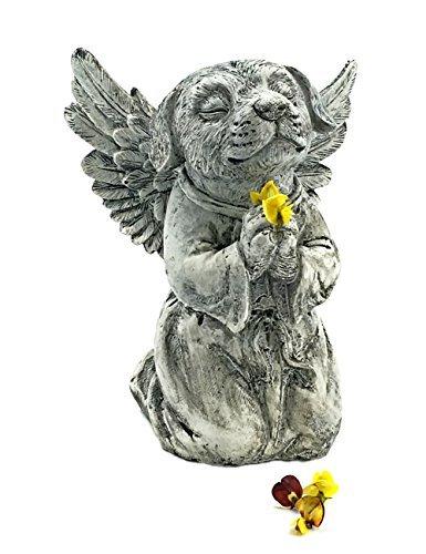 Elaan31 Hund Memorial Garden Statue in Gottes Pray (Engel-garten Statue Betender)