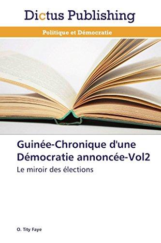 Guine-chronique d'une dmocratie annonce-vol2