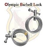 #3: hawkish branded Olympic barbell lock rod lock