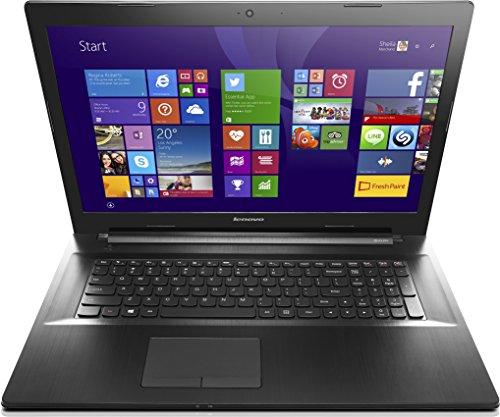 Lenovo G70-70 43,9 cm (17,3 Zoll HD+ TN) Laptop (Intel Pentium 3558U, 1,7GHz, 4 GB RAM, 500 GB HDD, Intel HD 4400, kein Betriebssystem) schwarz -