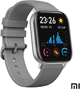 Amazfit GTS Smartwatch - mit Herzfrequenz-Messung, AMOLED