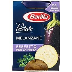 Barilla Sugo Pestato di Melanzane Con Melanzane e Verdure Pestate, Senza Glutine - 175 gr