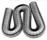 In alluminio tubo flessibile 50mm Diametro interno estensibile fino a 5metri