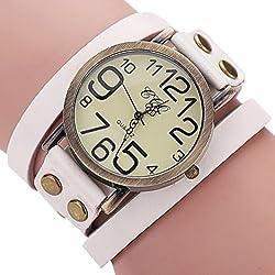 New Fashion Long Leather Watches Women Dress Watches Leather Strap Quartz Wrist Watch Relogio Feminino