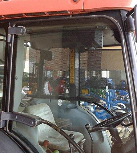Preisvergleich Produktbild Duschvorhang Solar für Traktor 53x 53cm, 2Stück