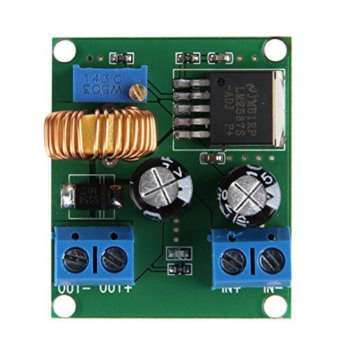 BouT Spannungsregler Modul, DC zu DC Boost Konverter, Einstellbare Step Up Power Supply Modul, Coil Inverter Konverter Transformer, Power Module Ersatz, 3 5 12V auf 19 24 30 36V - Electronic Power Inverter