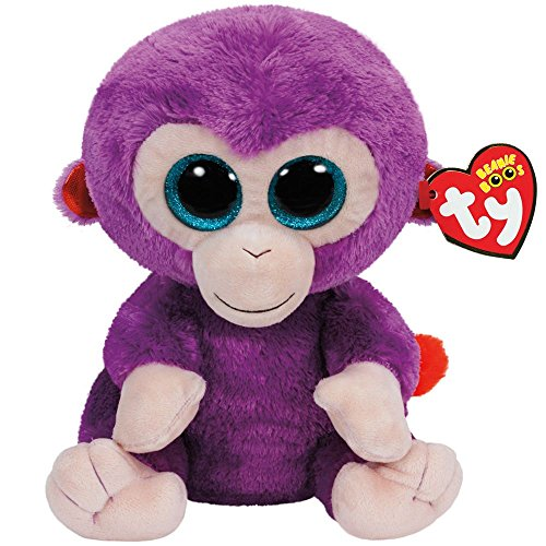 Beanie Boo Monkey - Grapes - 24cm 9""