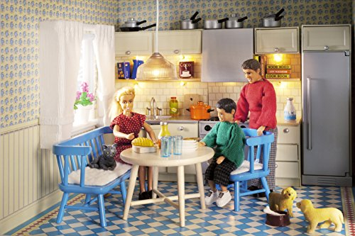 Lundby 1:18 Scale Dolls House Smaland Kitchen Furniture Set