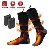 Calcetines Térmicos - Invierno Eléctrico Calcetines Calientes Climatizada para Hombre y Mujer...