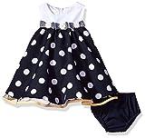 Baby Doll Petticoat Kleid inkl. Windelhöschen von Bonnie Jean Gr. 56,62,68,74,80,86 (74)