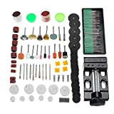 Asdomo 134pcs Elektrische Schleifbohrmaschine Zubehör Set Mini Bohrmaschinen Multifunktions-Tools Kit