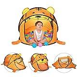 Kinder Spielzelt Bällebad Zelt Pop Up Tiger