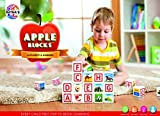 #3: Toyztrend Educational Apple Blocks Alphabets & Numbers Along With Pictures for Kids Ages 3+
