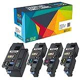 4 Do it Wiser Kompatibel Toner für Dell E525w   593-BBLN 593-BBLL 593-BBLZ 593-BBLV - Premium