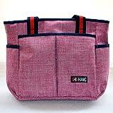 Wickeltasche Windel Still Tasche Mummy Baby Schwangerschafts Care Tasche für Tote Umhängetasche mit mehreren Taschen groß Kapazität STILVOLL und haltbar Pink L
