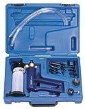 Expert Aspirateur Kit de test–QUALITÉ Expert, conçu pour aider à Localiser et Identifier les soucis sur véhicules. Applications: carburant, allumage, allumage de transmission, Air conditionné, de carburant lignes, émissions, Aspirateur de frein et d'embrayage saignement. Corps moulé sous pression avec manomètre et accessoires Kit. Facilement démontable pour nettoyage écran. Emballé dans un étui de rangement Moule avec manches.