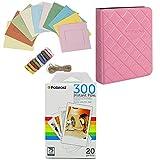 Polaroid carta fotografica PIF300 (20 fogli) + cornici colorate + album fotografico (compatibile con PIC300)