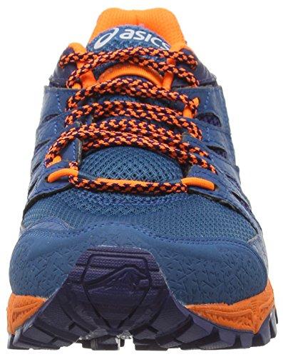 Asics Gel-fujiattack 4, Chaussures de Trail Homme Bleu (Mosaic Blue/Aquatic Blue/Indigo 5340)