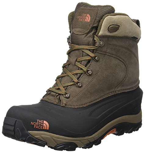 THE NORTH FACE Herren Chilkat Iii Trekking-& Wanderstiefel, Braun (Mudpack Brown/Bombay Orange Yva), 47 EU