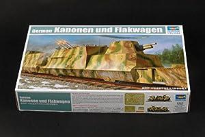 Trumpeter 01511 BP42 - Tren blindado alemán
