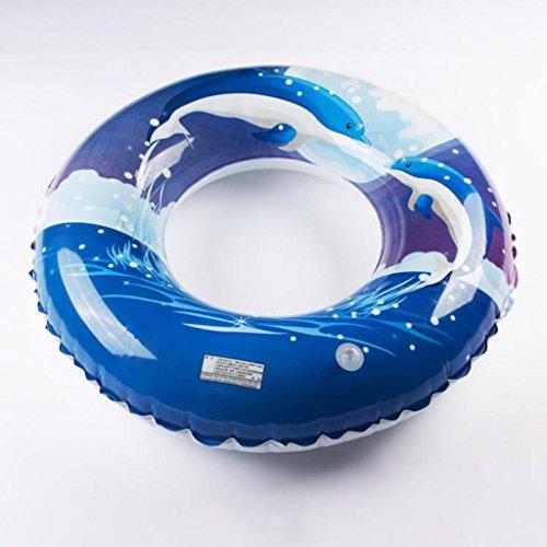 Preisvergleich Produktbild Miaoge Verdickungs- 30 Draht PVC Kind Erwachsener Schlauchboot schön Dolphin Fettpölsterchen 50cm