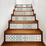Treppenaufkleber Wandtattoos Diy Wandtattoos Mosaikmuster Treppenaufkleber Selbstklebendes Tapeten Kühlschrank Aufkleber