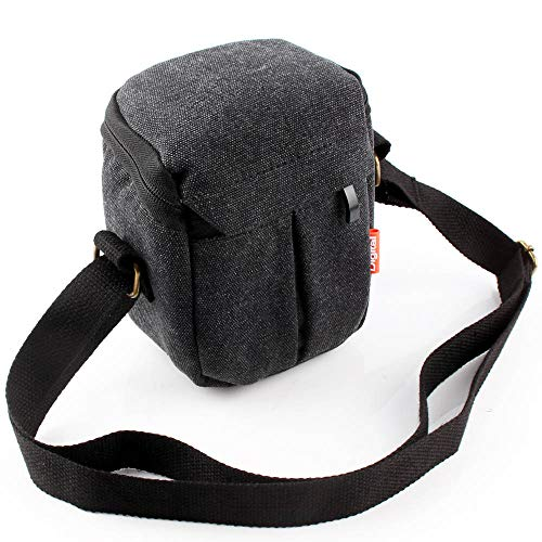 CIVIQ Digital Camera Bag Case for Canon Powershot G16 G15 G12 G10 SX150 SX160 SX170 is G9X Mark II EOS M100 M6 15-45mm Lens G7X2