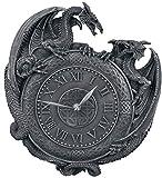 Unbekannt Nemesis Now Dragon Duel Wall Clock Wanduhr Schwarz