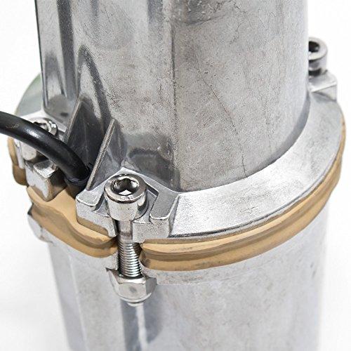 350 W Alu Wasserpumpe Ø 98 mm Tauchpumpe Membranpumpe Brunnenpumpe Gartenpumpe -