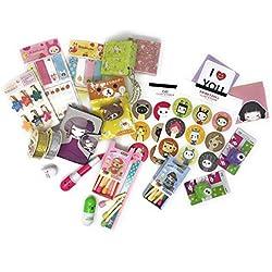 Cute Set de regalo–incluye de accesorios de papelería Rilakkuma Kawaii