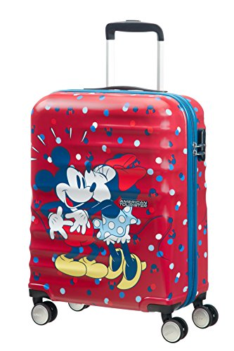 American Tourister - Disney Wavebreaker Spinner Minnie Loves Mickey, 55 cm, 36...