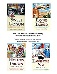 The Lord Edward Corinth and Verity Browne Omnibus (Books 1-4): Sweet Poison, Bones of the Buried, Hollow Crown, Dangerous Sea