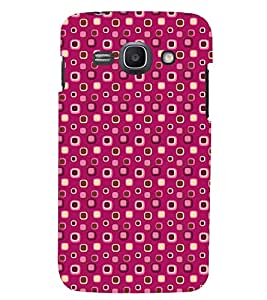 Printvisa Pink Dotted Pattern Back Case Cover for Samsung Galaxy Core i8262::Samsung Galaxy Core i8260