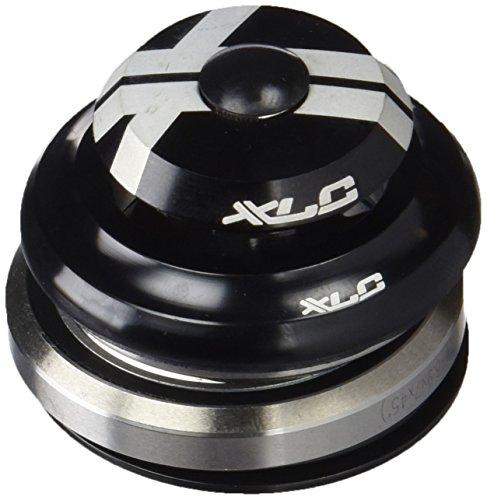 XLC Unisex- Erwachsene Zubehör 1 1/8-1 1/4 Tapered integriert Comp A-Head-Steuersatz HS-I06, Schwarz, One Size -