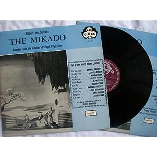 ACL 1014-5 Gilbert/Sullivan The Mikado D'oyly Carte Isidore Godfrey 2x vinyl LP