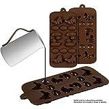 2er Set Silikon-Pralinenformen (Ostern) – Silikonform (BPA-frei) für Schokolade