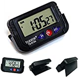 #4: Crispy Deals Car Dashboard / Office Desk Alarm Clock and Stopwatch with Flexible Stand