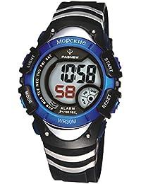 Reloj de los deportes al aire libre / reloj del estudiante masculino / femenino / funcionamiento / reloj impermeable / reloj de los niños / reloj electrónico , deep blue