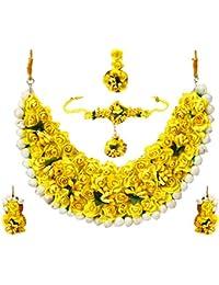 YouBella Traditional Jewellery Jewellery Set for Women (Multi-Colour) (YBNK_5578)