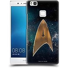 Ufficiale Star Trek Discovery Delta Logo Cover Retro Rigida per Huawei P9 Lite / G9 Lite