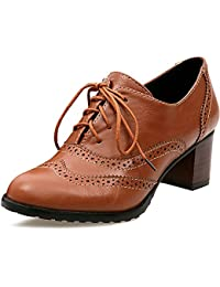 Amazon.co.uk  Brown - Court Shoes   Women s Shoes  Shoes   Bags d81be5ebc3b4