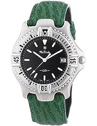 Mx Onda 32-6200-45 - Reloj de pulsera hombre, piel, color verde